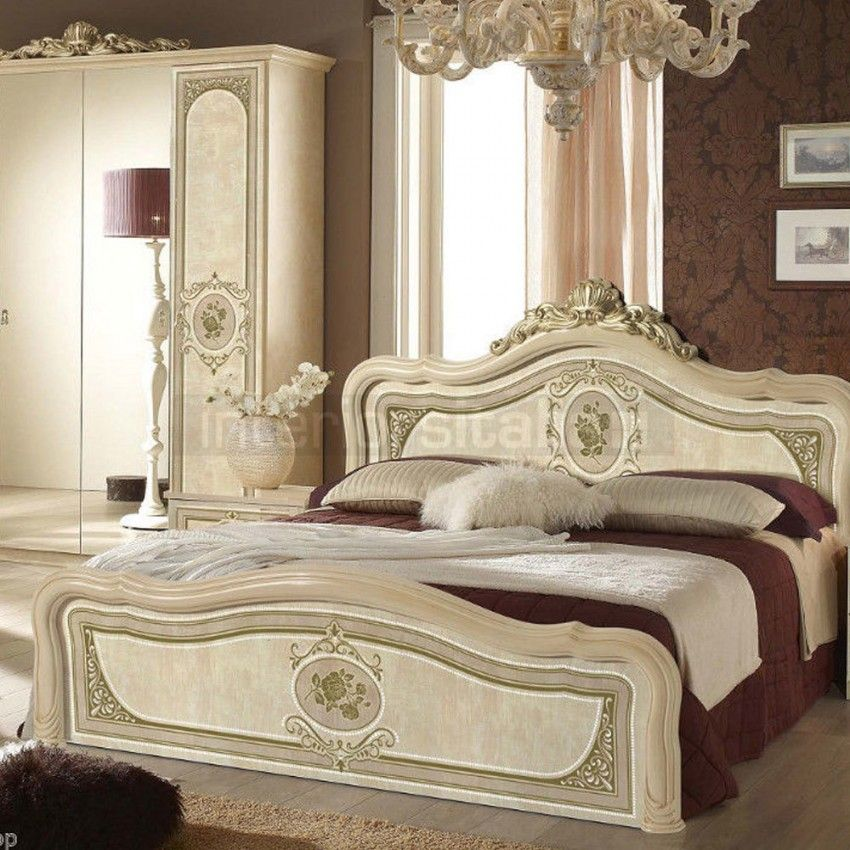 italian bedroom set alice collection furniture classic aida Home - Italian Bedroom Sets