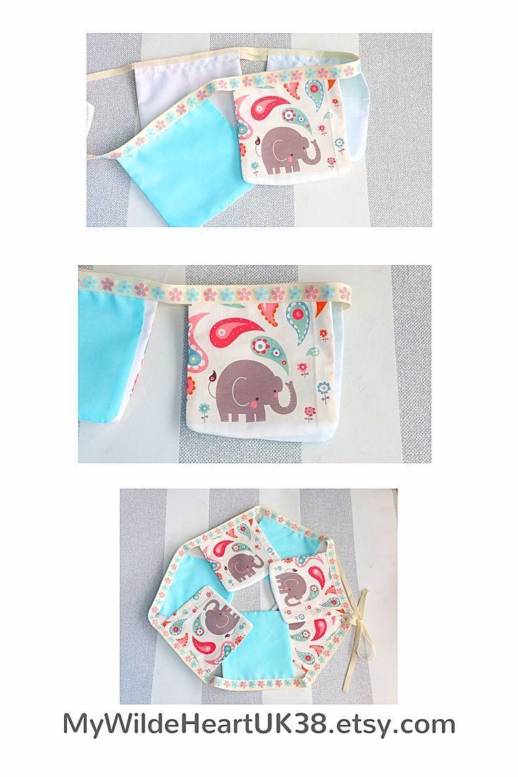 Elephant bunting elephant decor baby gift baby girl gift first elephant bunting elephant decor baby gift baby girl gift first birthday nursery decor elephant baby shower new mom gift bunting negle Images