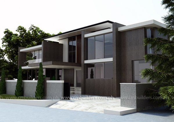 Hill View Lot Modern Home Plans Budget Friendly House