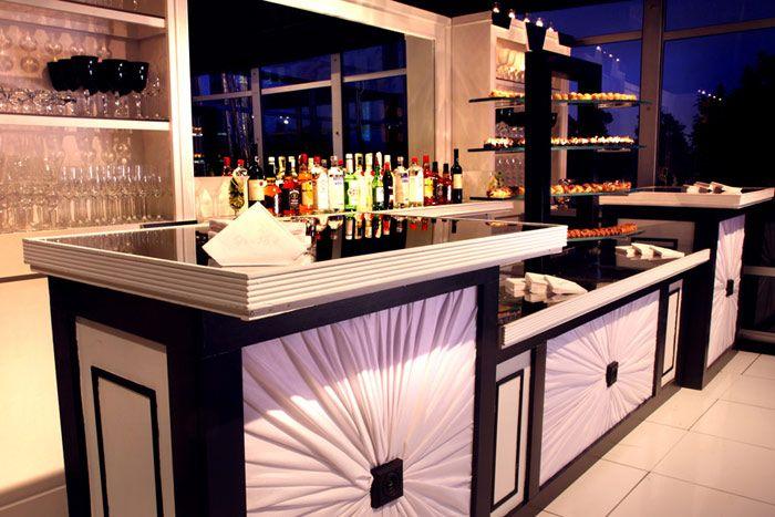 Custom Made Art Deco Mahogany Bar | architecture | Pinterest | Art ...