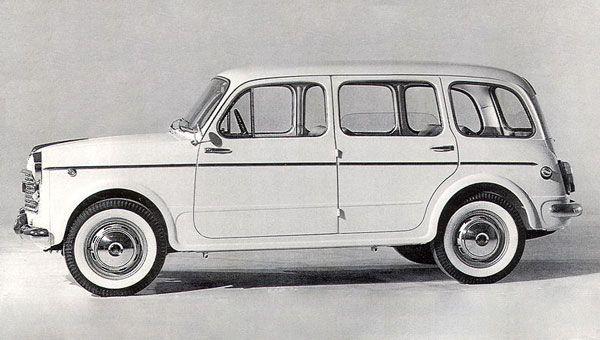 Fiat 1100 103 Familiare Con Immagini Vecchie Auto Auto