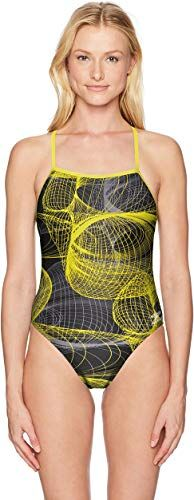 one Piece Swimsuit Speedo Womens Cyclone Strong Back Endurance