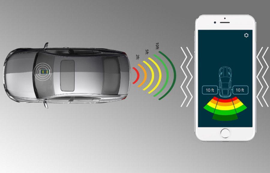 FenSens License Plate Frame Wireless Backup Sensor | Tech