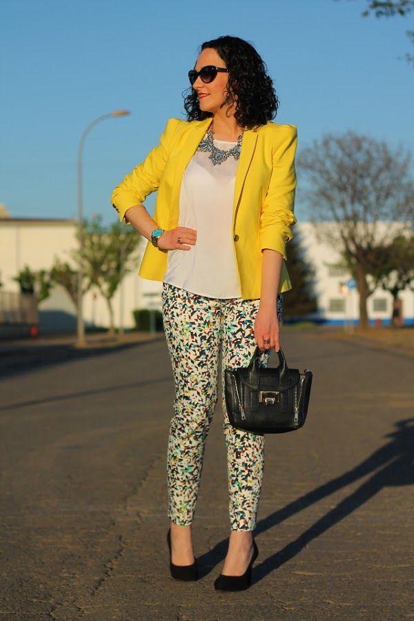blazer amarillo mujer - Buscar con Google  9d9337561f5e