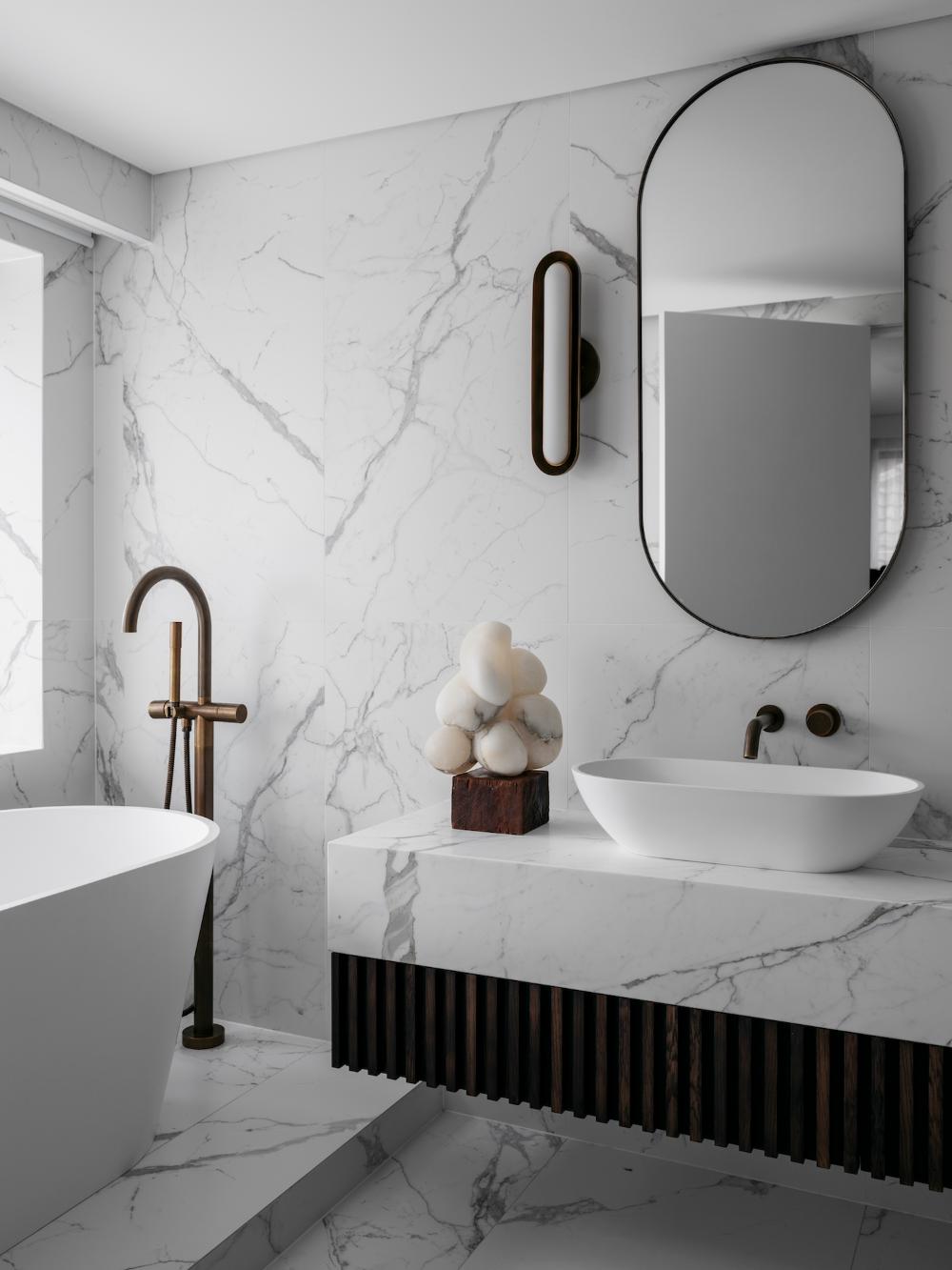 Bathroom  Vaucluse Residence Bathroom by Nina Maya Interiors