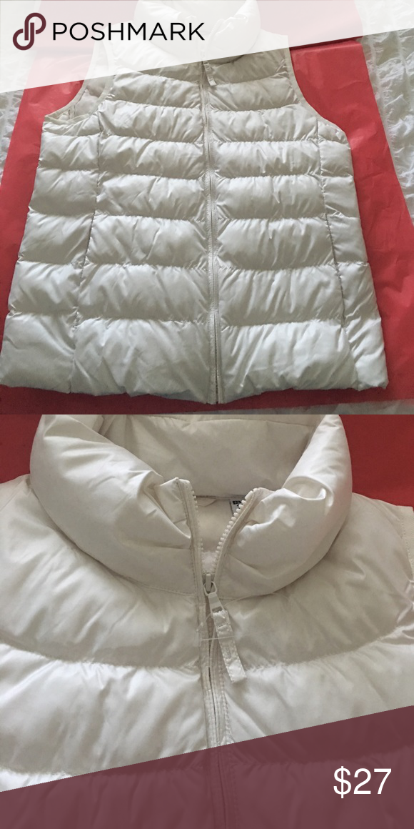 Final price🌹White puffer Uniqlo jackets, Clothes design