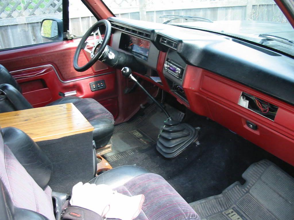 ford 1986 f150 interior Google Search Ford trucks