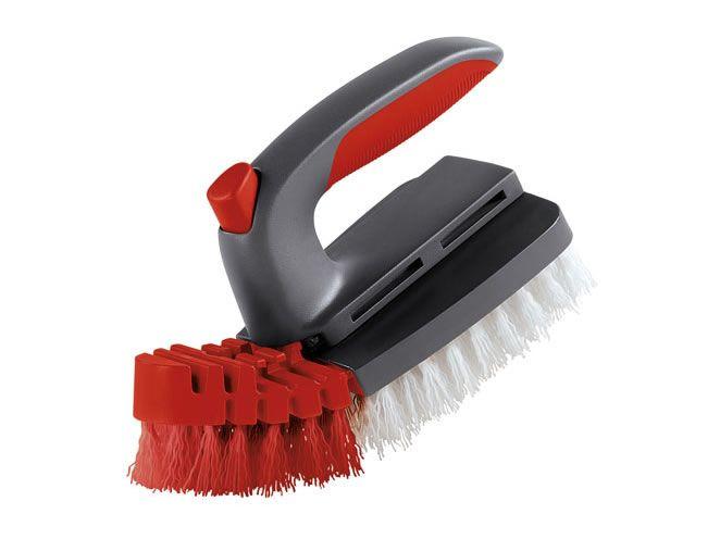 Flexible Scrub Brush Bathroom Cleaning Brushes Rubbermaid