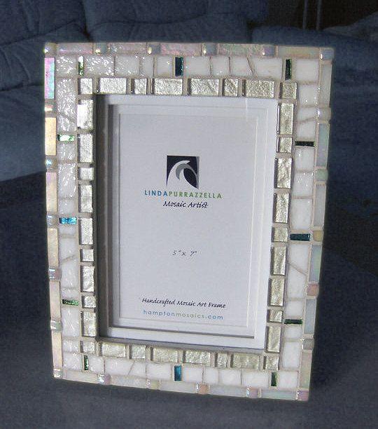 Unique Wedding Frame Cottage Chic Baptism By Hamptonmosaics