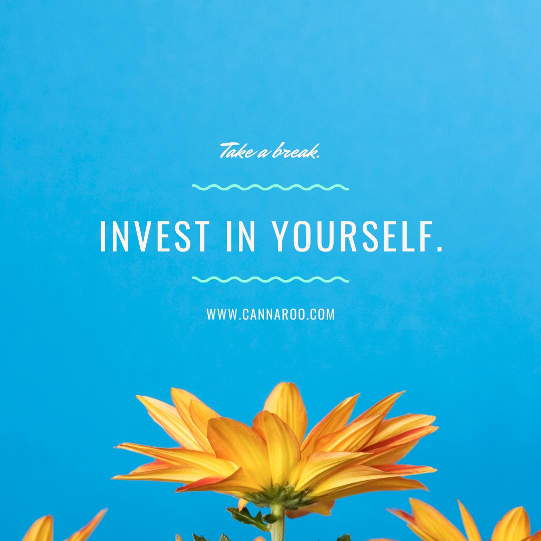 Invest in yourself, Roo!  Cannaroo is here to help you in making the best decisions on your CBD needs.  .#cbd #cbdoil #cbdtopicals #cbdisolate #cbdskincare #cbdedibles #cbdlife #cbdmovement #cbdhealth #cbdcommunity #hemp #hempoil #cbdflowers #hempflower #cbdoils #holistichealth #cbdhemp #cannabinoid #holistic #cannabidiol #cannabiscommunity #cannaroo #cannaroocbd