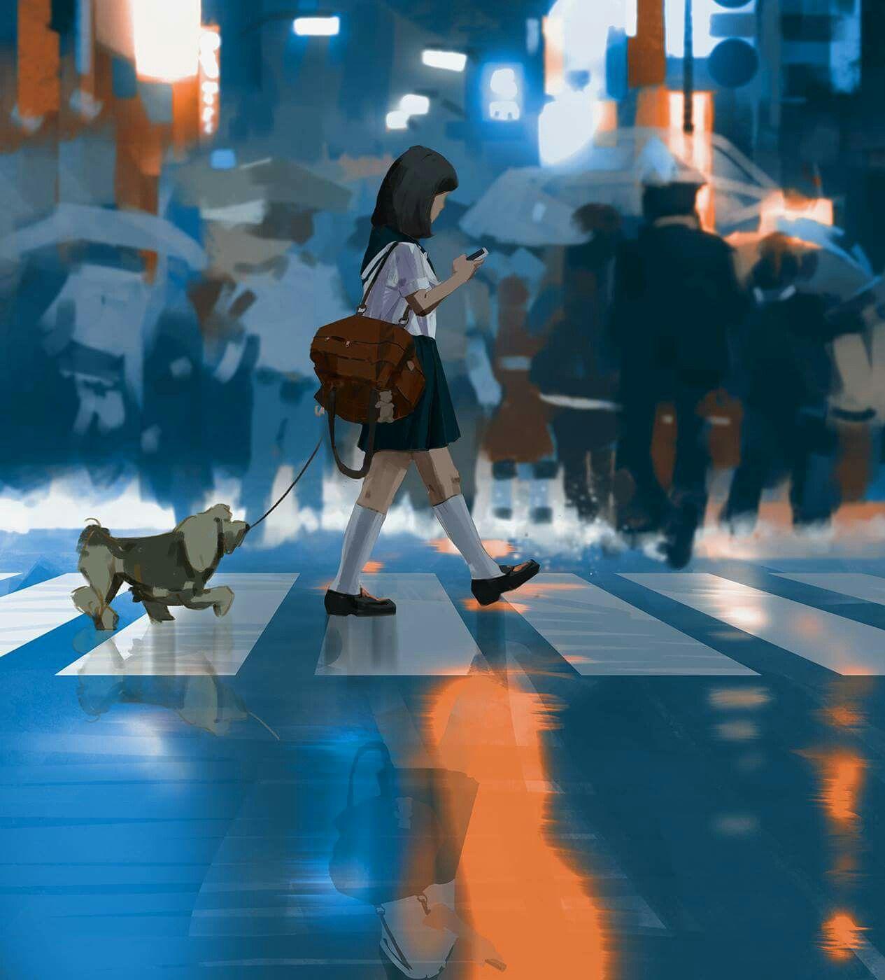 Ghim của Dương Vũ trên beautiful picture anime Anime, Ý