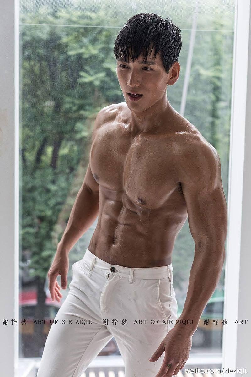 Asian muscle hunk