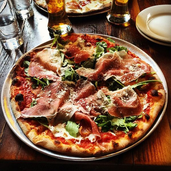 "The BEST Pizza In NYC #refinery29 http://www.refinery29.com/best-pizza-nyc#slide-7 Toby's Public House A pub-like setting with to-die for brick over pizza and a hearty selection of beers on tap. The selection of pies is lengthy as well, with options ranging from the classic Margherita to concoctions like the Tartufata (truffle cream sauce and parma cotto ham) and the Smoked Pancetta (cured Italian bacon, mushrooms, and garlic).<a href=""http://tobyspu..."