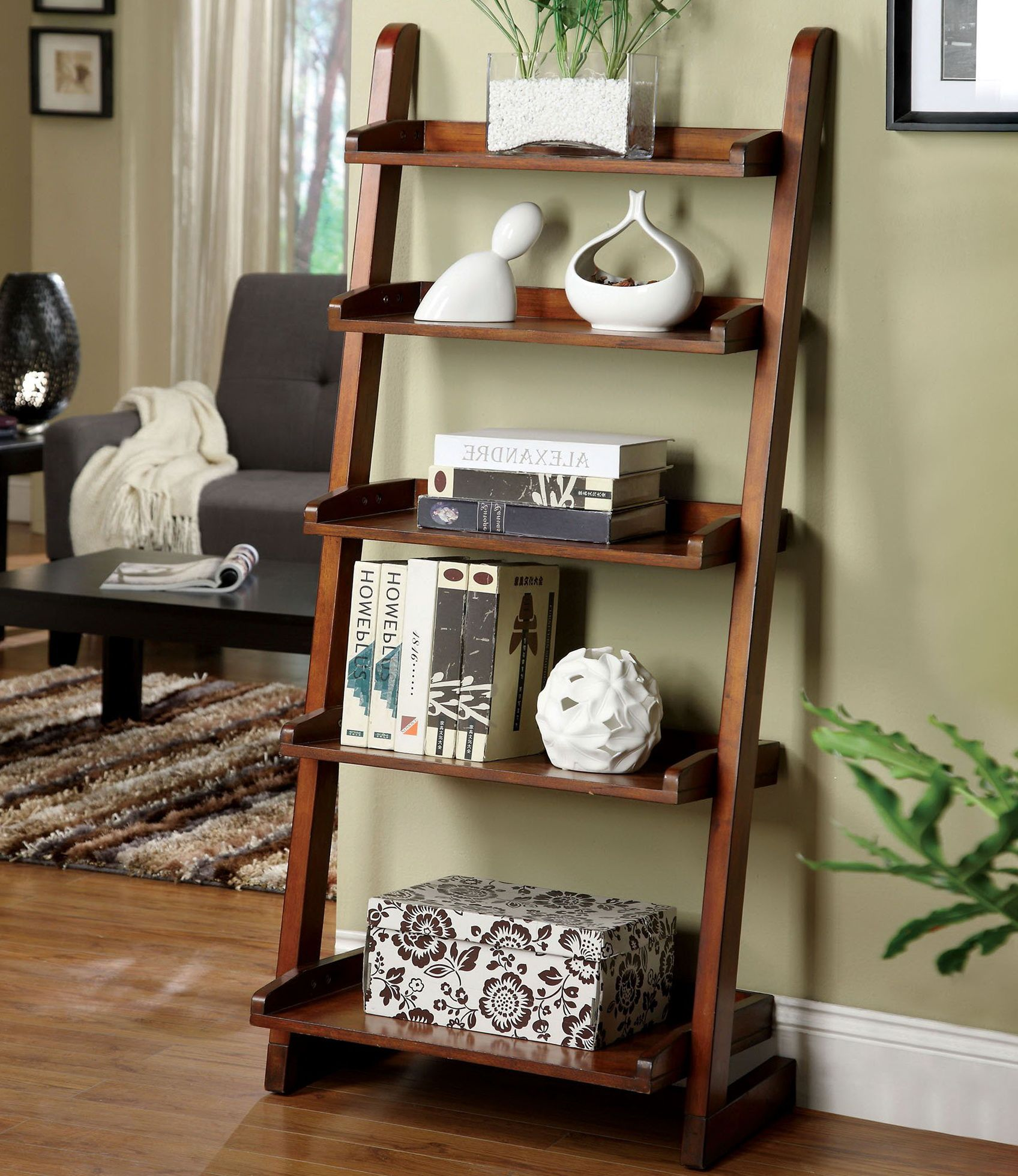 decorating ideas for bookshelf