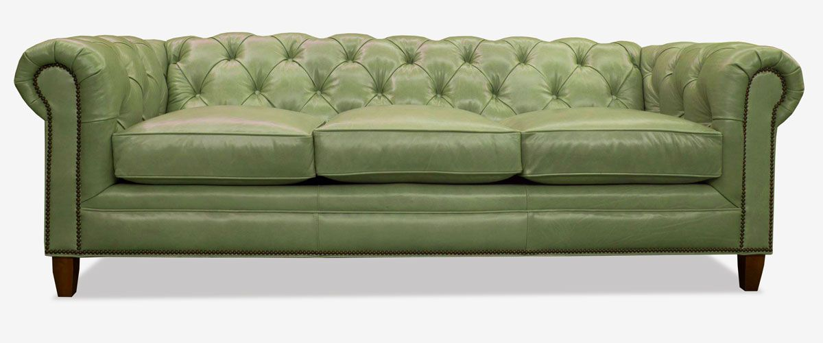 The Fitzgerald In 2019 Green Design Inspiration Chesterfield Style Sofa Chesterfield Sofa Sofa