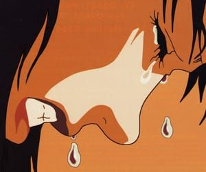 Best Movie Ever Crying And Perfect Blue Image Crying Aesthetic Blue Anime Crying Girl Drawing