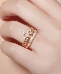 nuevo concepto a0e00 87c1a Resultado de imagen para anillos de oro para mujer de ...
