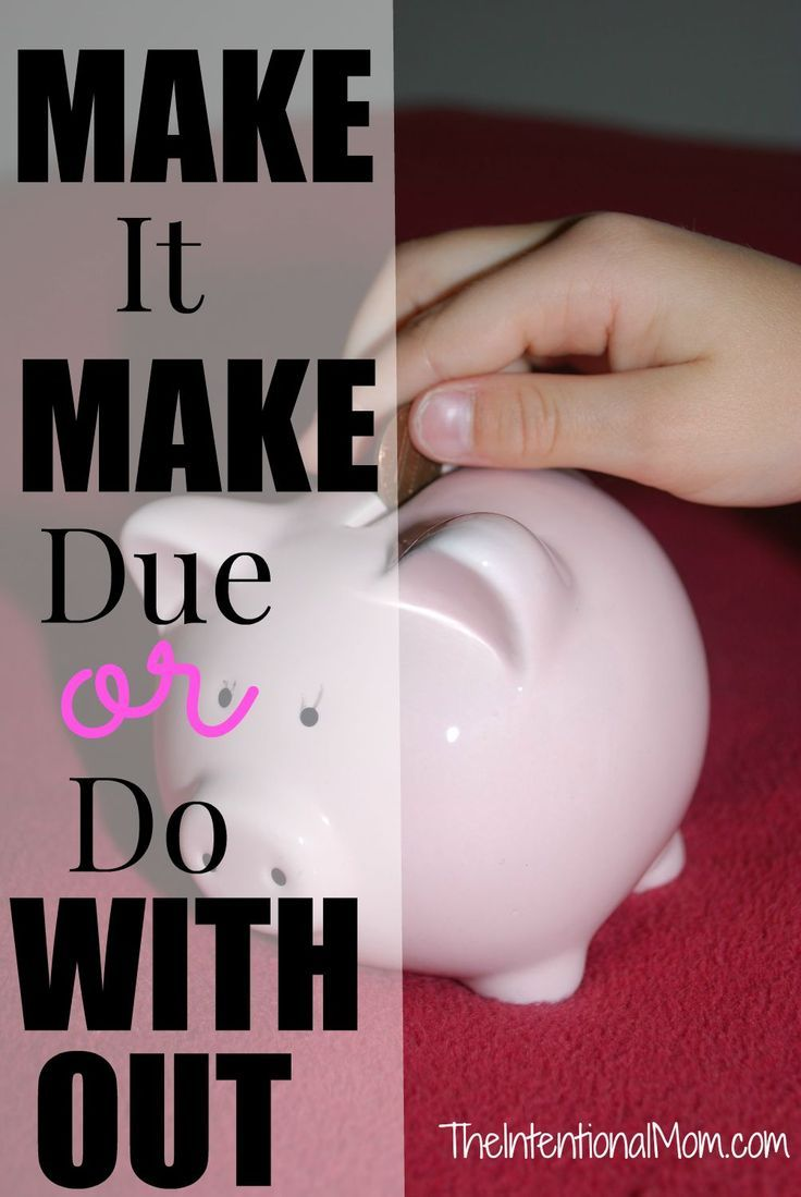 Embracing a frugal lifestyle often means making things from scratch, making due with something that may not be ideal, or saying no to things you don't need.