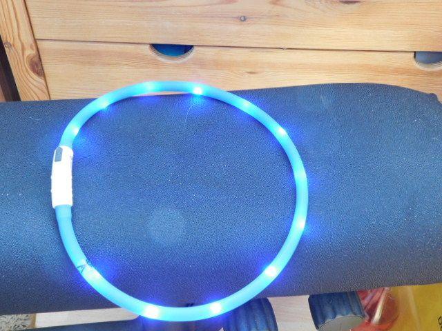 Aodoor LED Halsband Visio Light Leuchthalsband Hundehalsband Leuchtschlauch Karlie USB :: Manu testet und berichtet