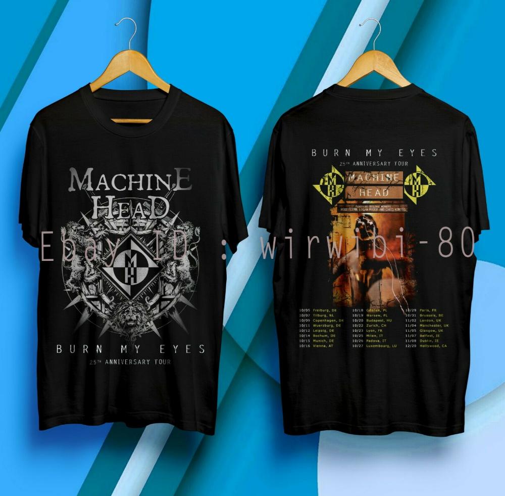 NEW /& OFFICIAL! Black Machine Head /'Burn My Eyes/' T-Shirt
