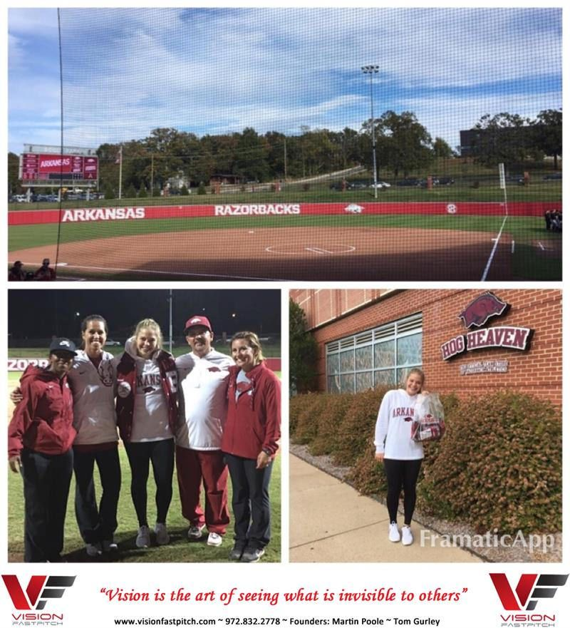 Commitment Alert Congratulations Hannah Gammill On Your Decision To Continue To Further Your Education And Softball Career At The University Of Arkansas University Of Arkansas Arkansas Education