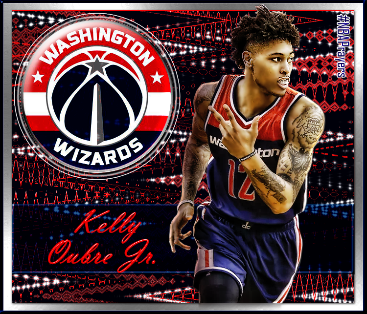 new product cd570 56399 NBA Player Edit - Kelly Oubre, Jr. | Wizards - NBA Players ...
