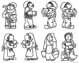 Blog De Los Ninos Dibujos De Navidad Para Colorear Belenes Imagenes De Navidad Dibujos De Navidad