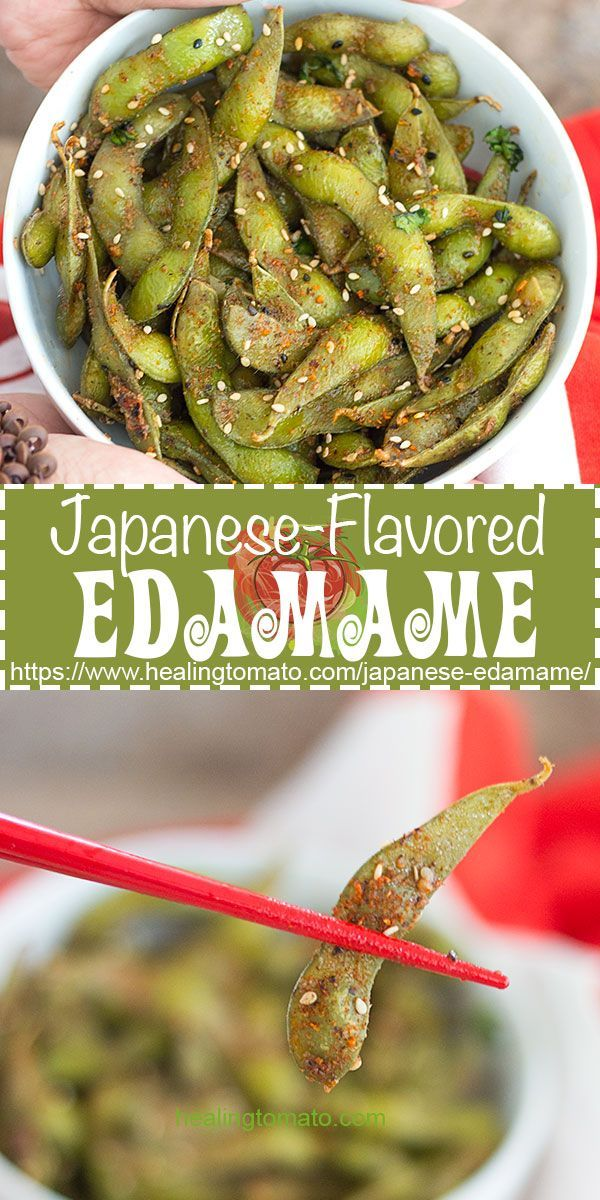 Spicy Edamame Recipe With Japanese Seven Spice