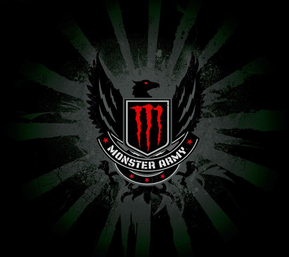 Monster Energy Logo Wallpaper  b121fa4ac71