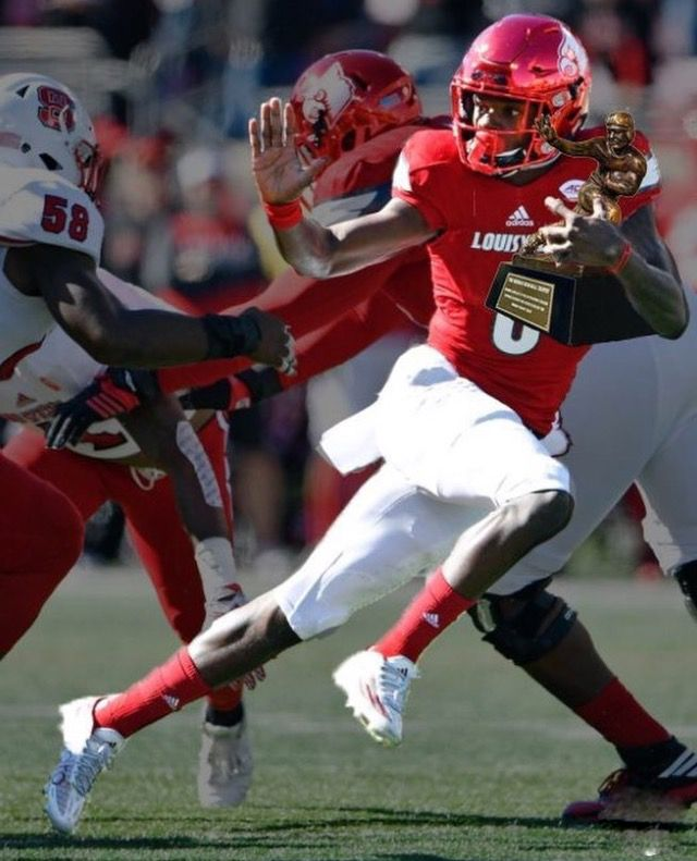 Lamar Jackson Heisman Favorite Of 2016 Fall Season Louisville Football Louisville Cardinals Lamar Jackson
