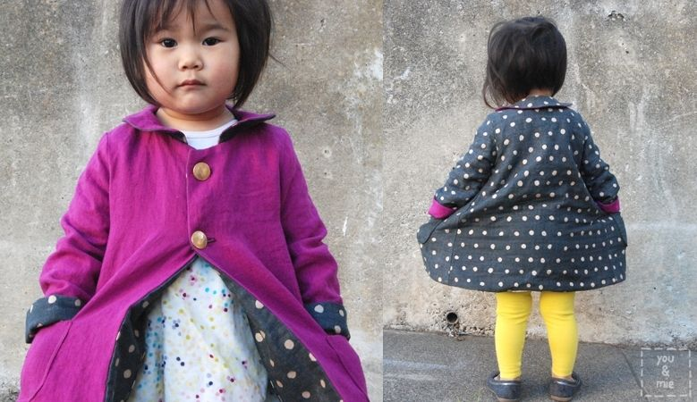 Basic Bodice Design Series: you & mie - iCandy handmade--turn a basic bodice pattern into a reversible jacket!