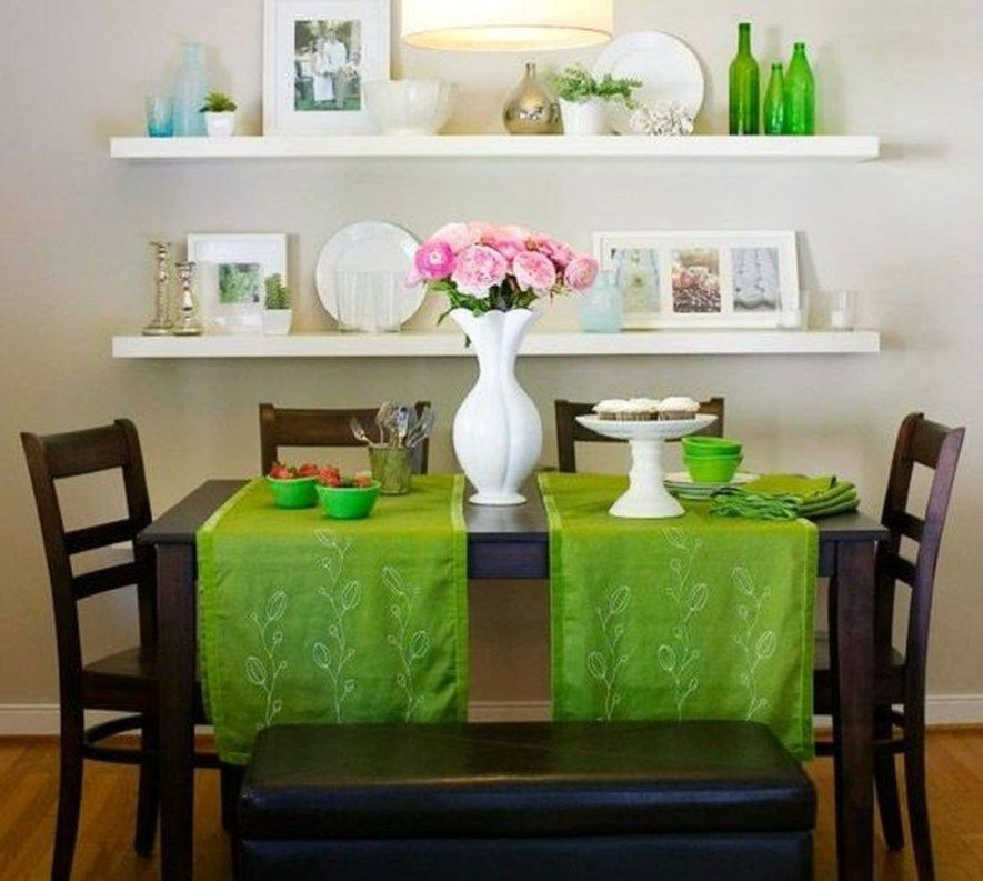 Best Comfy Dining Room Ideas For Small Space 03 Blue Chairs 400 x 300