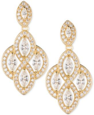 363dbcd01a16c Marquise Crystal Drop Earrings | Wedding Plans | Earrings, Jewelry ...