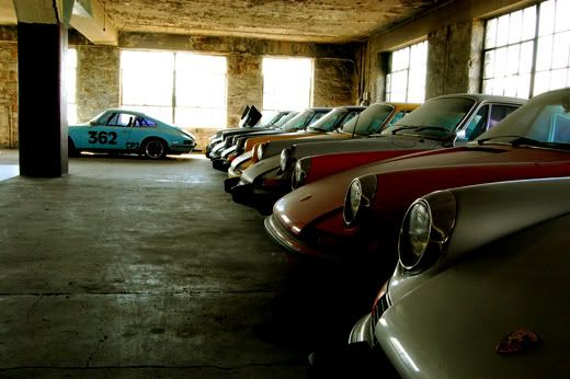 Over 50 Vintage Porsches Found In An Old Ford Dealership