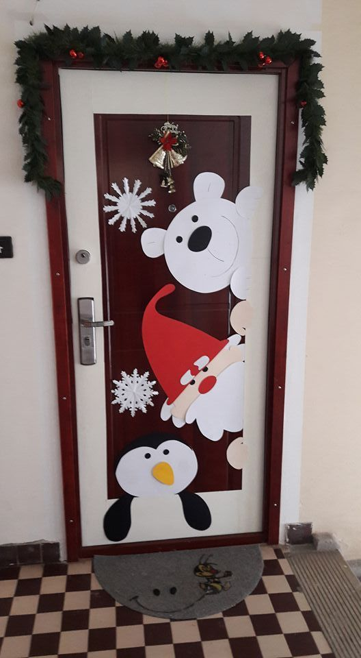 #christmasdoordecorationsforwork