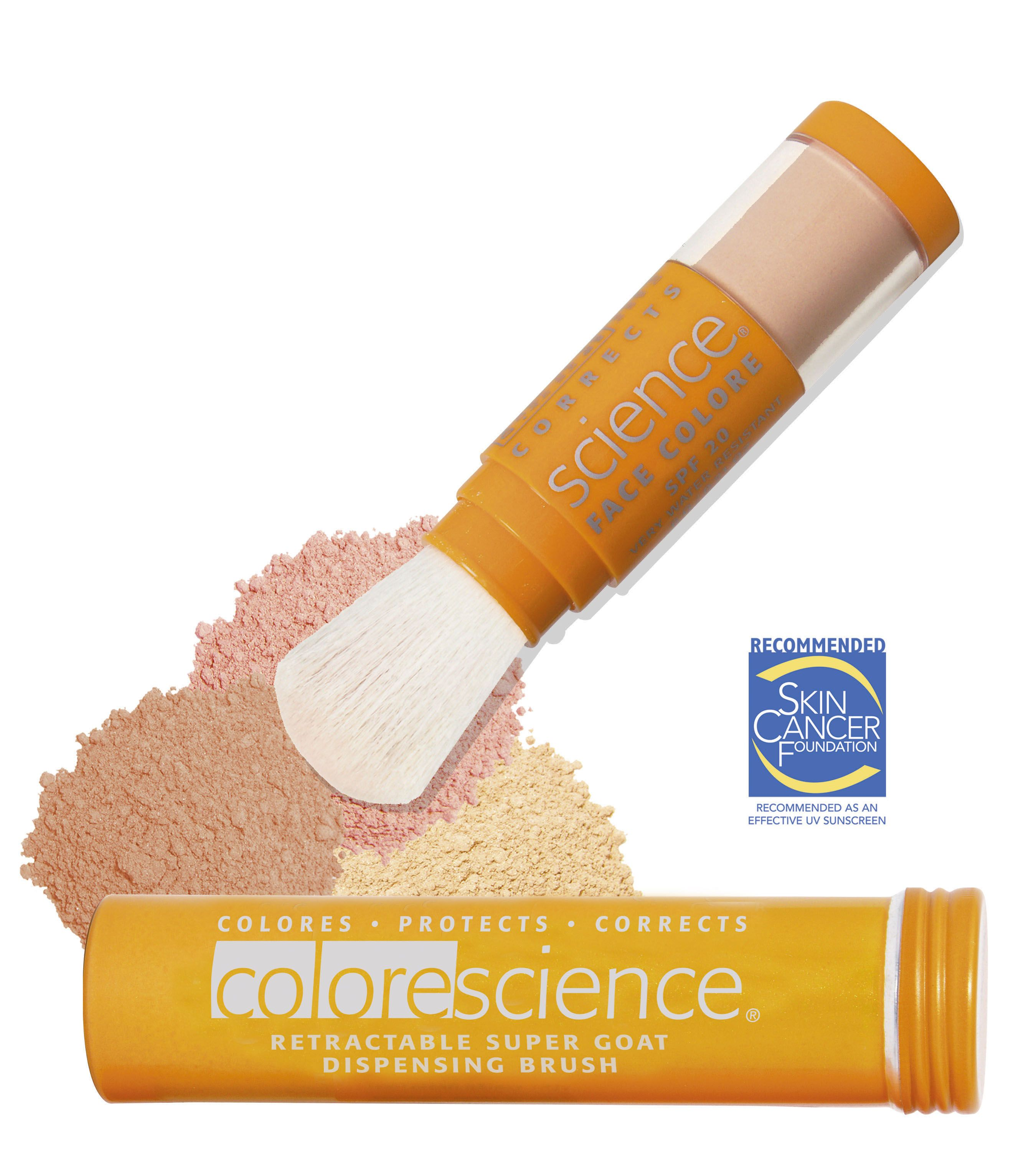 Colorescience Mineral Makeup is the best! Chemical peel