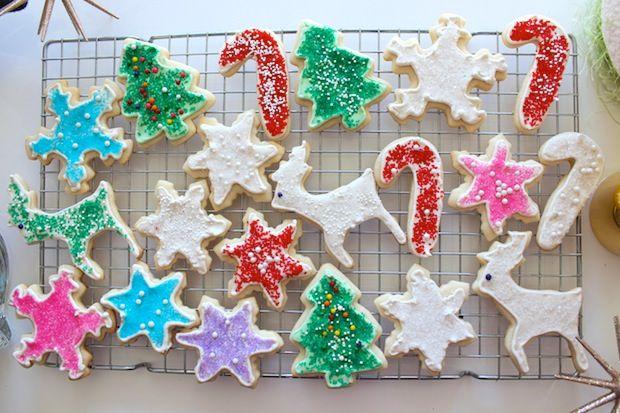 Christmas Cookies with Royal Icing