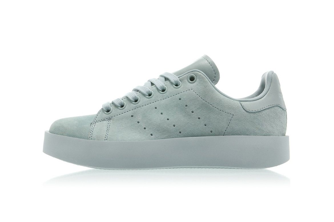 plus récent 9510b b9c2c The adidas Stan Smith Bold Steps up in a Dreamy Mint ...