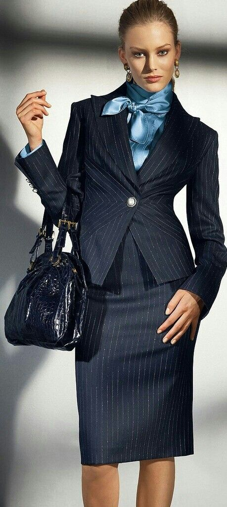 Awesome Variation On The Pinstripe Power Suit Dress Right Slay