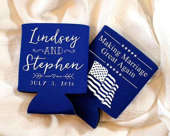Wedding Favors, 4th of July Wedding, Fun Wedding Favors, July 4th ...