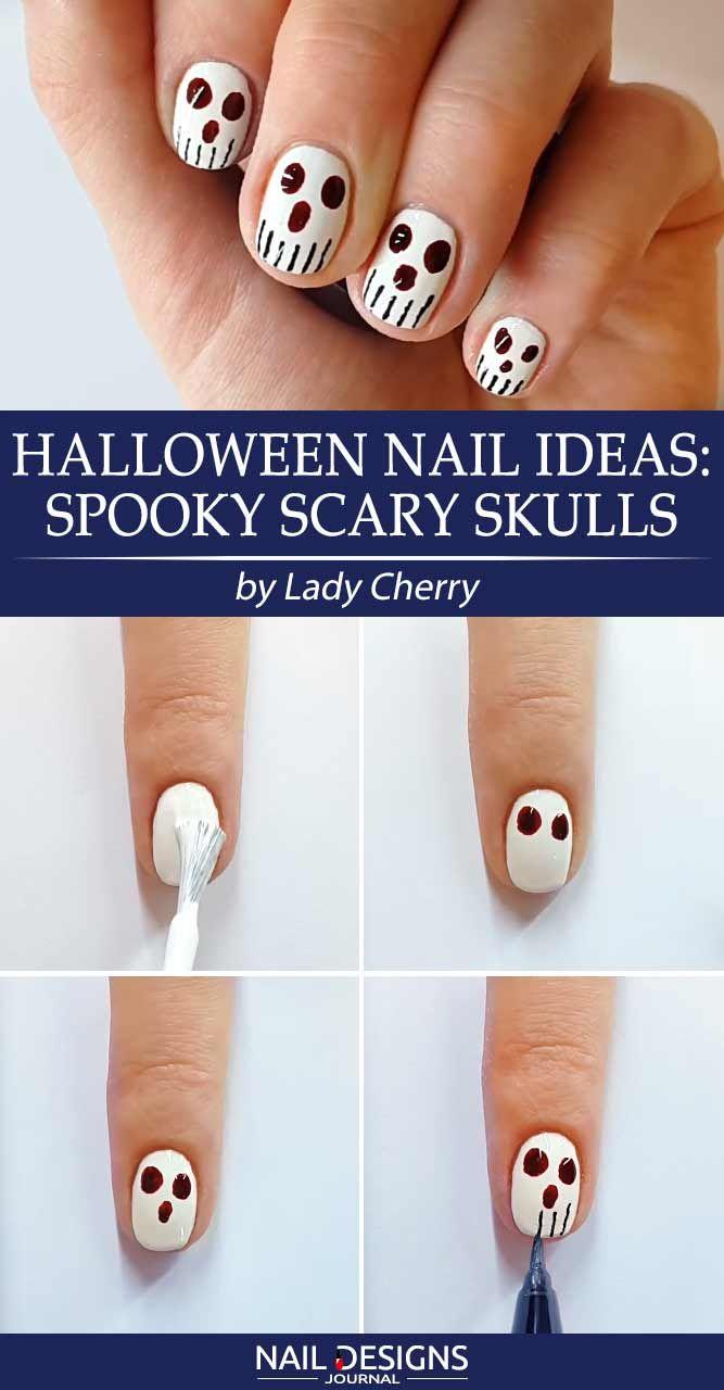 7 Halloween Nail Art Ideas Tutorials For Creative Beginners Nail