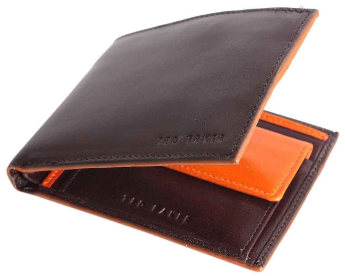 c1fd669f0 Ted Baker Wallet - Chocolate Coldpot Wallet  Mens  Wallet