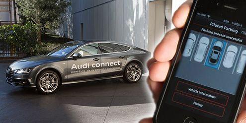 Audis Selfparking Car Well Done Stuff Cars Pinterest Cars - Audi self parking