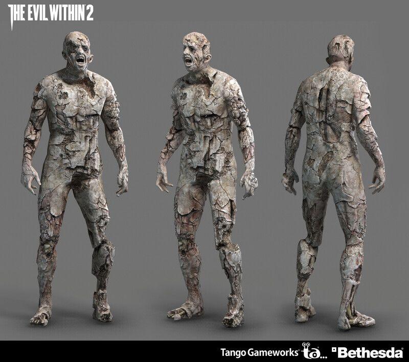 Artstation The Evil Within2 Albedo Kazuya Matsumura In 2021 Albedo The Evil Within Digital Sculpture