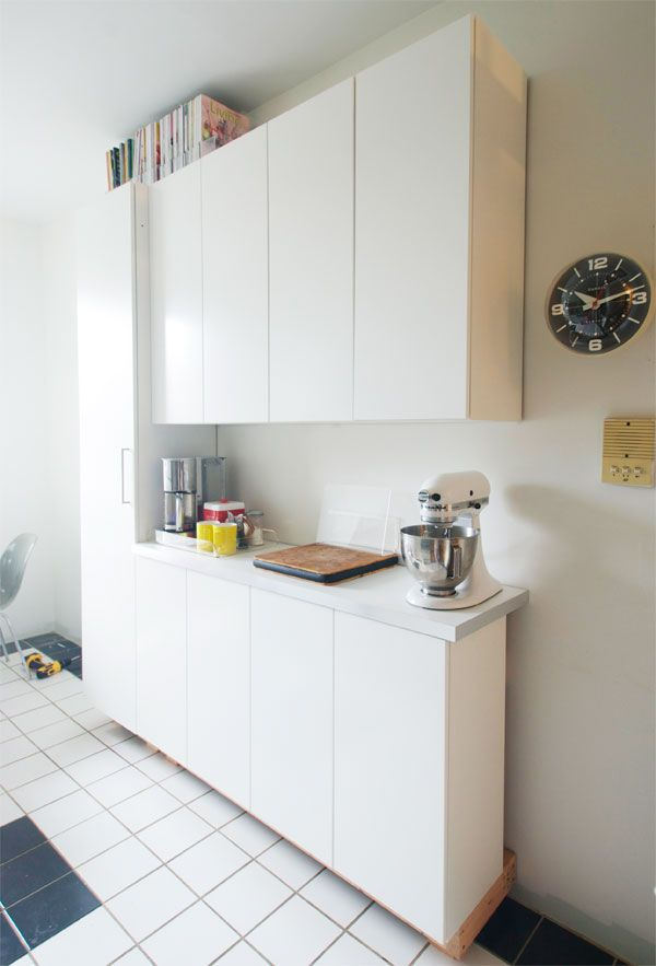 Slim Cabinets For Small Kitchen