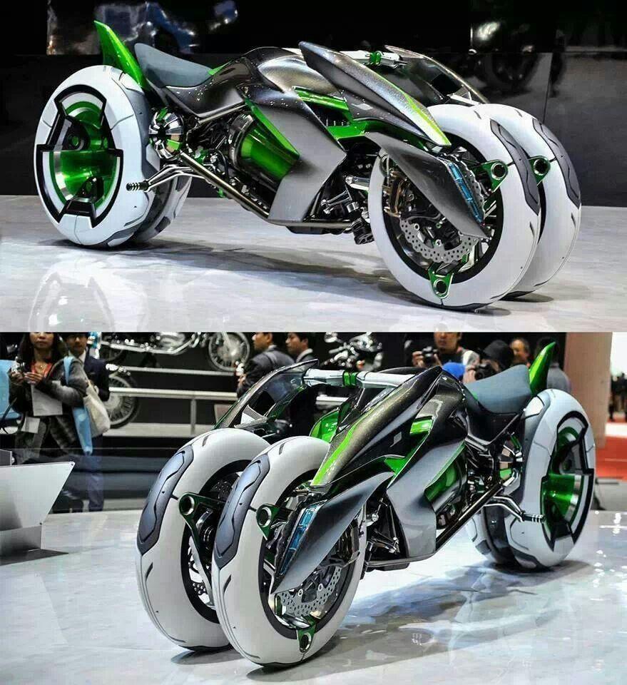 Crazy Looking Kawasaki