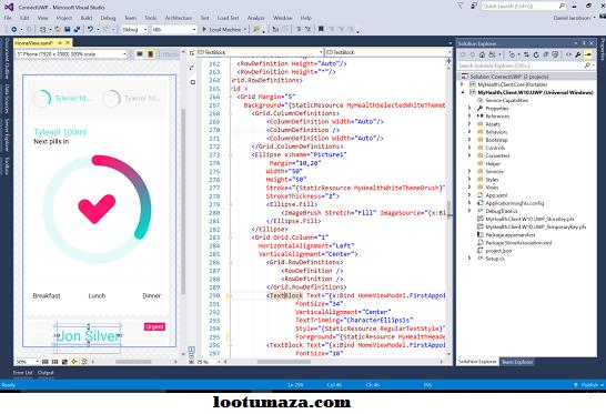 Microsoft Visual Studio Professional 2017 15.7.3 Free Download   Microsoft visual studio. Instant messaging. Visual