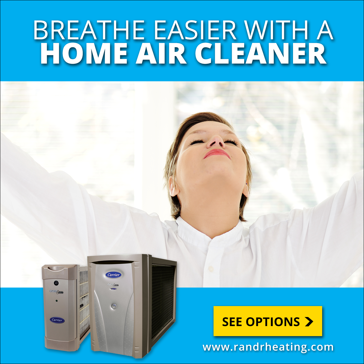 Breathe easy with a home air cleaner Air Purifiers help reduce dust