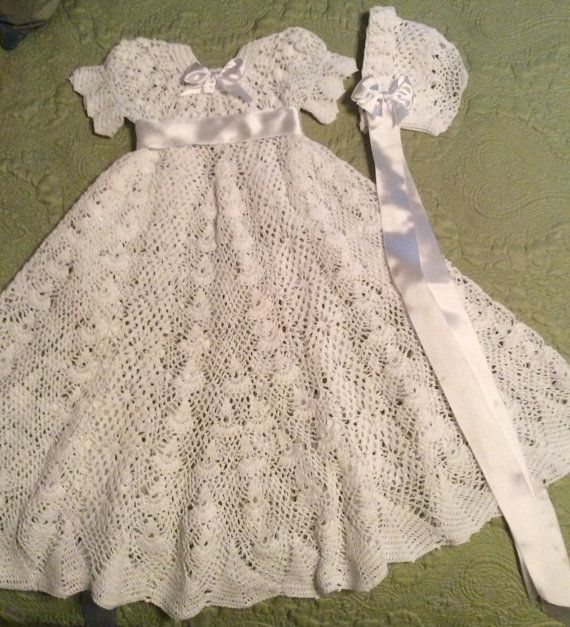 Heirloom Christening Pattern Christening Dress Baby Crochet