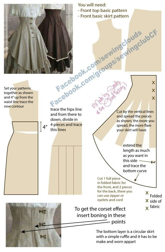 DIY Simple Corset